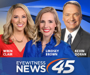 Eyewitness News at 9pm on 45TV